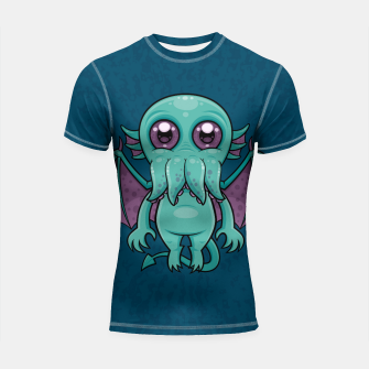 Thumbnail image of Cute Baby Cthulhu Monster Shortsleeve rashguard, Live Heroes