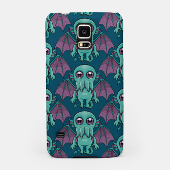 Miniatur Cute Baby Cthulhu Monster Pattern Samsung Case, Live Heroes