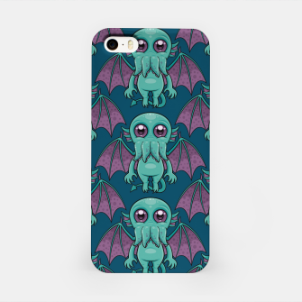 Thumbnail image of Cute Baby Cthulhu Monster Pattern iPhone Case, Live Heroes