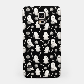 HALLOWEEN GHOST PARTY B&W Samsung Case Bild der Miniatur