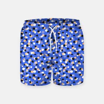 Thumbnail image of Funky pebbles in blue Swim Shorts, Live Heroes