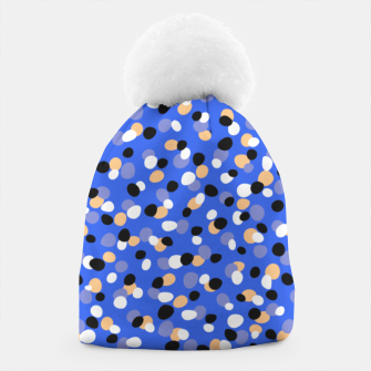 Thumbnail image of Funky pebbles in blue Beanie, Live Heroes