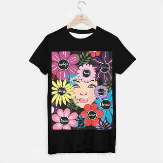 Thumbnail image of Women Empower Floral T-shirt regular, Live Heroes