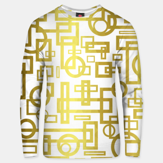 Thumbnail image of Gold Overlap Geometric Unisex sweater, Live Heroes