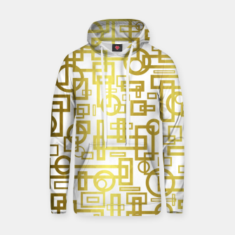 Thumbnail image of Gold Overlap Geometric Hoodie, Live Heroes