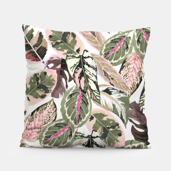 Miniaturka Botanical leaves jungle Almohada, Live Heroes