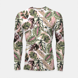 Miniaturka Botanical leaves jungle Longsleeve rashguard, Live Heroes