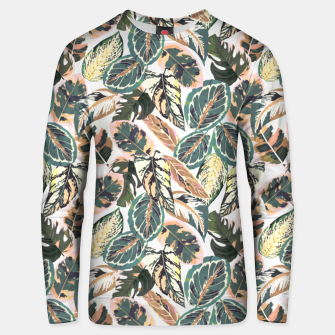 Miniaturka Botanical leaves jungle 2 Sudadera unisex, Live Heroes