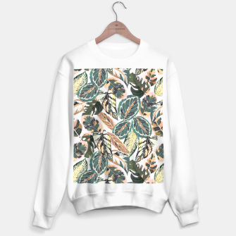 Miniaturka Botanical leaves jungle 2 Sudadera regular, Live Heroes