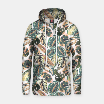 Miniaturka Botanical leaves jungle 2 Sudadera con capucha, Live Heroes