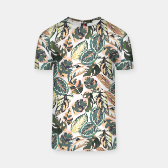 Miniaturka Botanical leaves jungle 2 Camiseta, Live Heroes