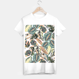 Miniaturka Botanical leaves jungle 2 Camiseta Regular, Live Heroes