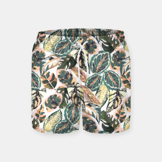 Miniaturka Botanical leaves jungle 2 Pantalones de baño, Live Heroes