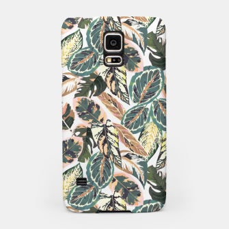 Miniaturka Botanical leaves jungle 2 Carcasa por Samsung, Live Heroes