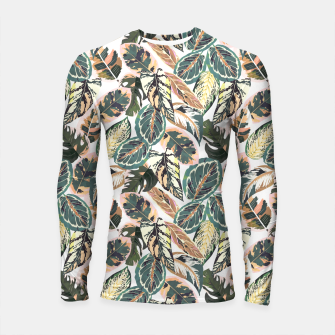 Miniaturka Botanical leaves jungle 2 Longsleeve rashguard, Live Heroes