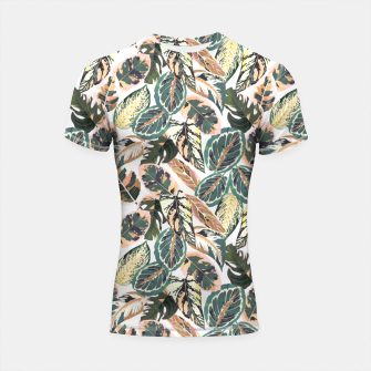 Miniaturka Botanical leaves jungle 2 Shortsleeve rashguard, Live Heroes