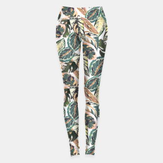 Miniaturka Botanical leaves jungle 2 Leggings, Live Heroes