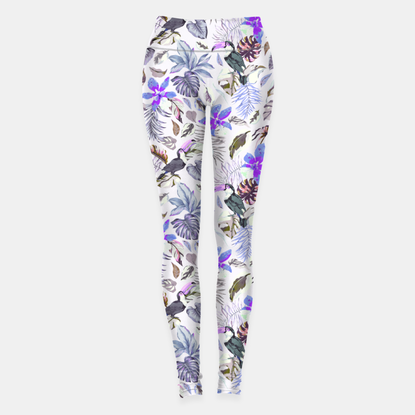 Foto Toucan in the lilac jungle I Leggings - Live Heroes