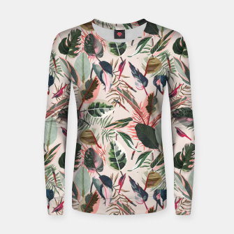 Thumbnail image of Wild nature jungle 90 Sudadera para mujeres, Live Heroes