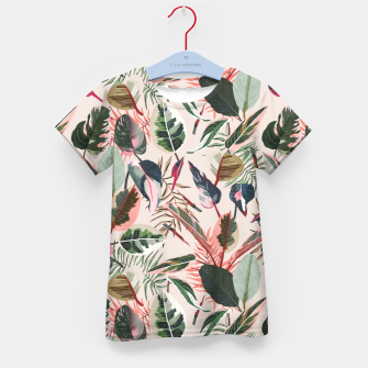 Miniatur Wild nature jungle 90 Camiseta para niños, Live Heroes