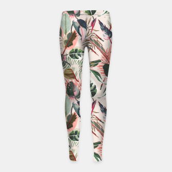 Thumbnail image of Wild nature jungle 90 Leggings para niña, Live Heroes