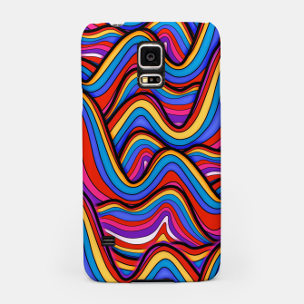 Thumbnail image of Rainbow river waves Samsung Case, Live Heroes
