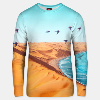 Thumbnail image of Desert Birds Unisex sweater, Live Heroes