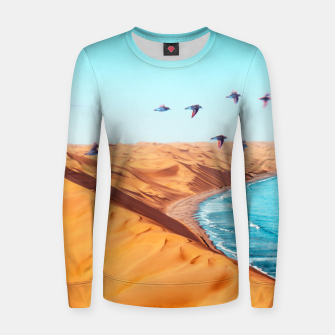 Thumbnail image of Desert Birds Women sweater, Live Heroes
