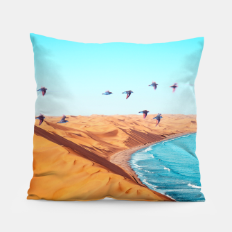 Thumbnail image of Desert Birds Pillow, Live Heroes