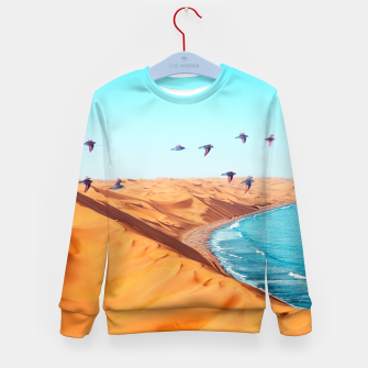 Thumbnail image of Desert Birds Kid's sweater, Live Heroes