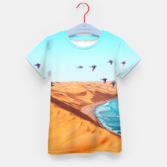 Thumbnail image of Desert Birds Kid's t-shirt, Live Heroes