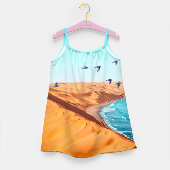 Thumbnail image of Desert Birds Girl's dress, Live Heroes