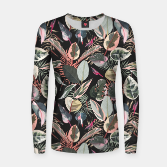 Thumbnail image of Wild nature jungle 95 Sudadera para mujeres, Live Heroes