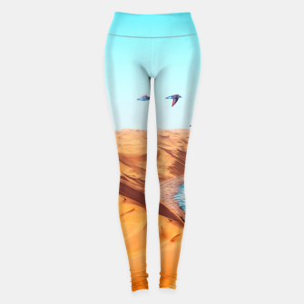 Thumbnail image of Desert Birds Leggings, Live Heroes