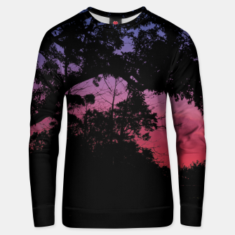 Thumbnail image of Sunset Landscape High Contrast Photo Unisex sweater, Live Heroes