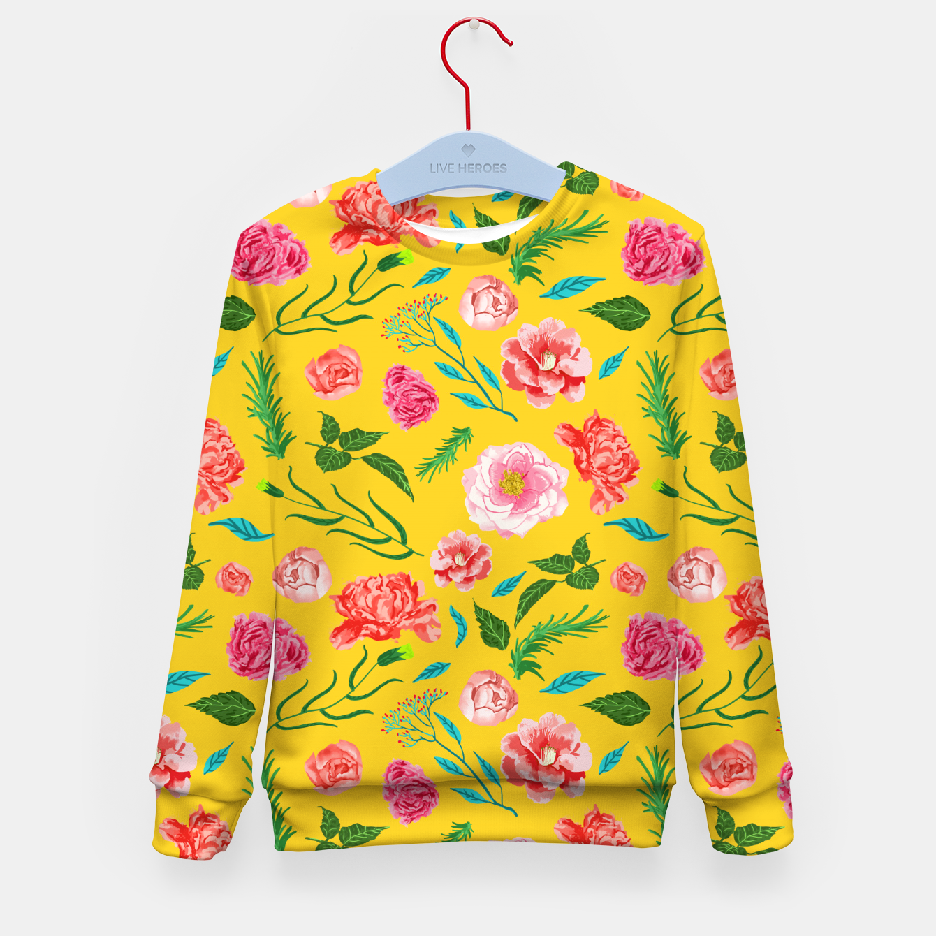 Image of New Summer Kid's sweater - Live Heroes