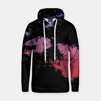 Thumbnail image of Sunset Landscape High Contrast Photo Hoodie, Live Heroes