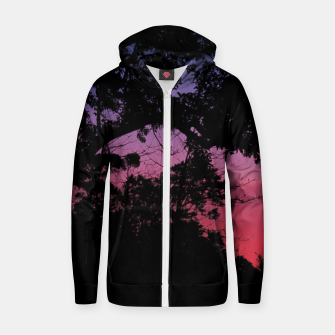 Thumbnail image of Sunset Landscape High Contrast Photo Zip up hoodie, Live Heroes