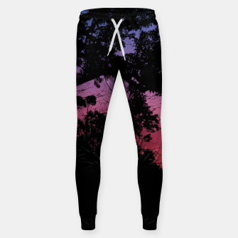 Thumbnail image of Sunset Landscape High Contrast Photo Sweatpants, Live Heroes