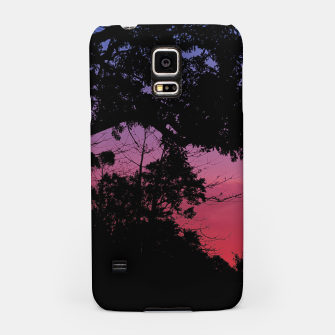 Thumbnail image of Sunset Landscape High Contrast Photo Samsung Case, Live Heroes