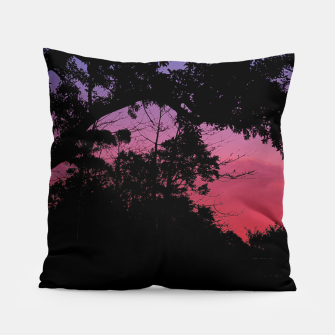 Thumbnail image of Sunset Landscape High Contrast Photo Pillow, Live Heroes