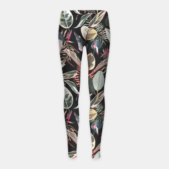 Miniatur Wild nature jungle 95 Leggings para niña, Live Heroes