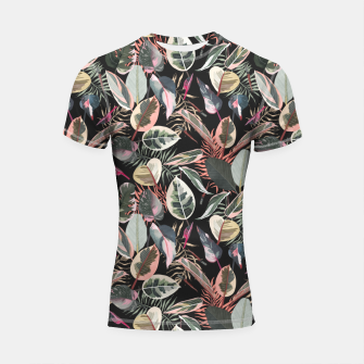 Thumbnail image of Wild nature jungle 95 Shortsleeve rashguard, Live Heroes