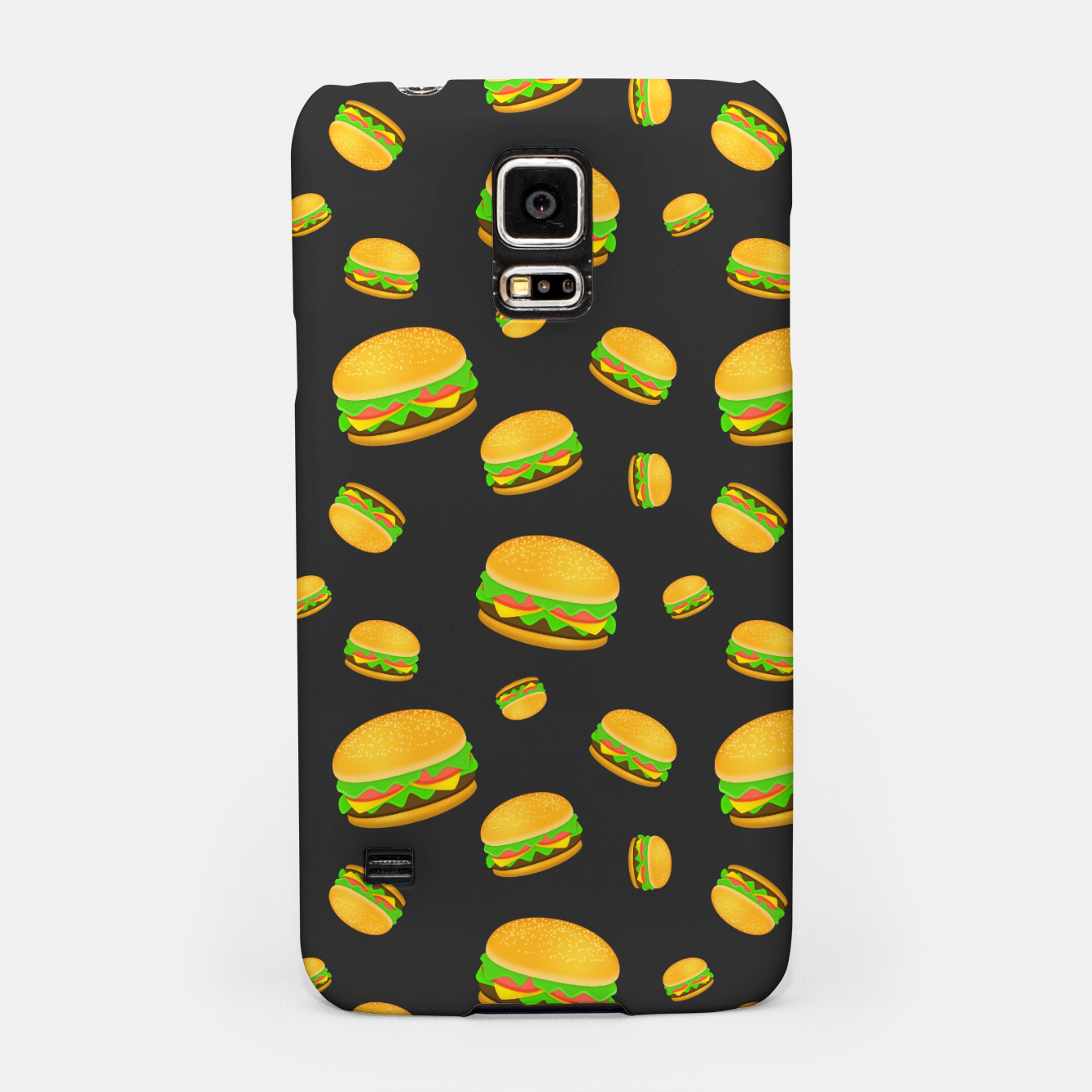 Image of Cool and fun yummy burger pattern Samsung Case - Live Heroes