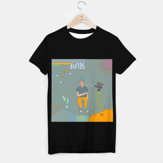 Thumbnail image of Selfie T-shirt regular, Live Heroes