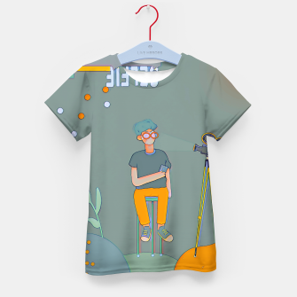 Thumbnail image of Selfie Kid's t-shirt, Live Heroes