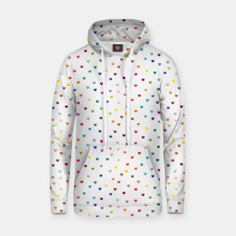 Thumbnail image of Rainbow cat confetti Hoodie, Live Heroes