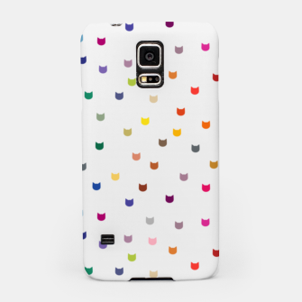 Thumbnail image of Rainbow cat confetti Samsung Case, Live Heroes