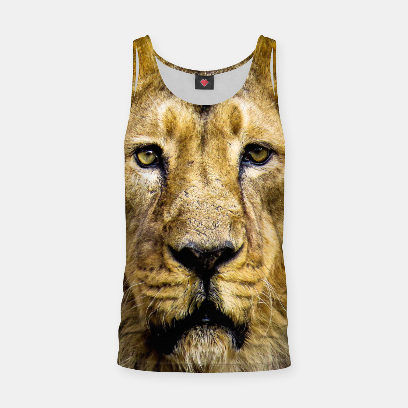 Image of Face of Lion Tank Top - Live Heroes