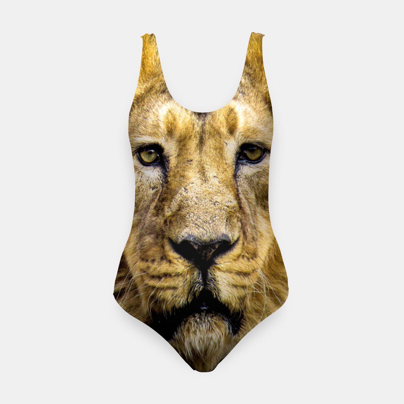 Image of Face of Lion Swimsuit - Live Heroes